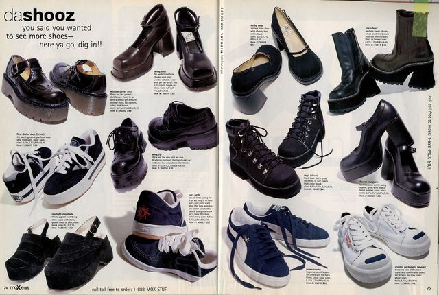 MAGGIELEE | 90s shoes, 90s fashion outfits, Fashion