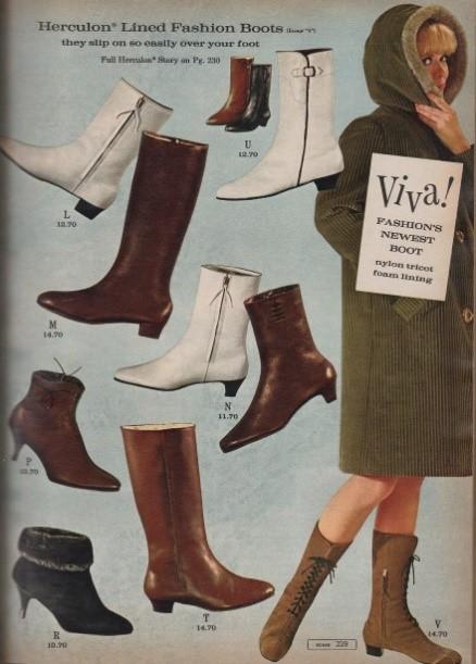 Go Go Boots a la 1966 | Gogo boots, Vintage boots, Vintage fashion ...